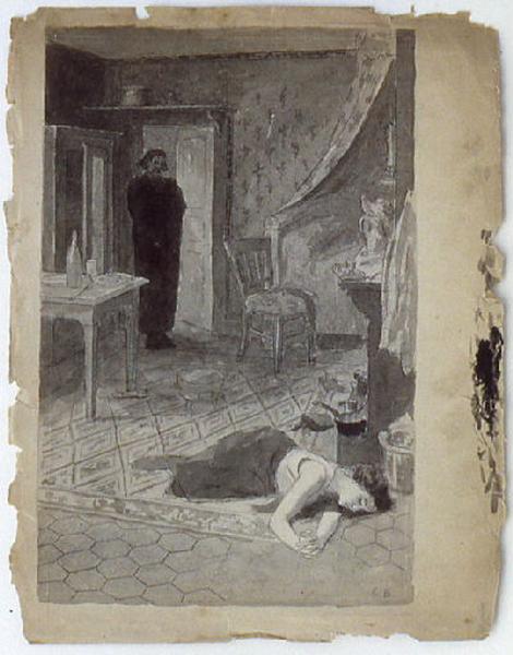 Etude pour 'Splendeurs et misères des courtisanes' de Balzac_0