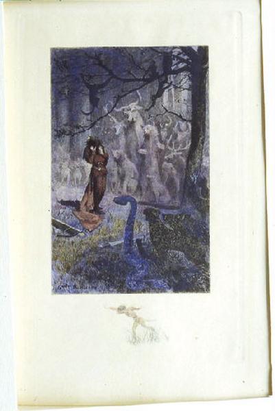 Saint Julien l'Hospitalier, chapitre 02 - Et tous les animaux se représentèrent (Tirage couleur)