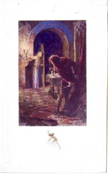 Saint Julien l'Hospitalier, chapitre 02 - Il crut voir le fantôme de sa femme (Tirage couleur)