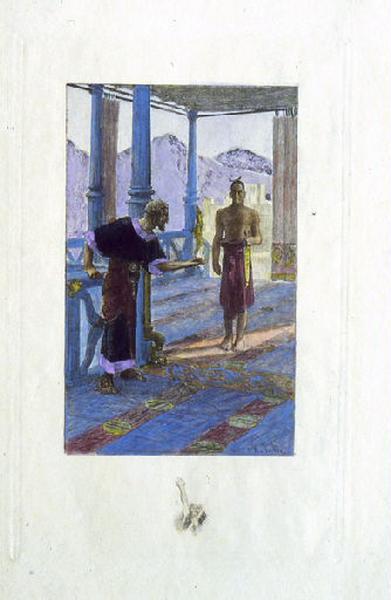 Hérodias, chapitre 01 - Un homme se présenta, nu jusqu'à la ceinture_0