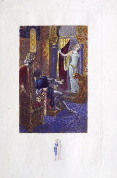 Saint Julien l'Hospitalier, chapitre 02 - Et une jeune fille parut (Tirage couleur)_0