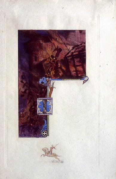 Saint Julien l'Hospitalier, chapitre 02 - Il s'engageait dans une troupe d'aventuriers (Tirage couleur)_0