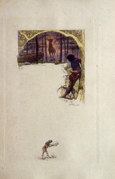 Saint Julien l'Hospitalier, chapitre 01 - Le prodigieux animal s'arrêta (Tirage couleur)_0