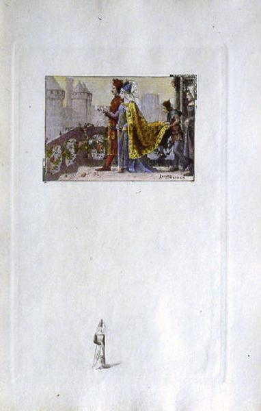 Saint Julien l'Hospitalier, chapitre 01 - Mariage des parents de Julien_0