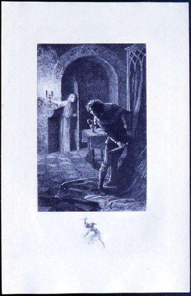 Saint Julien l'Hospitalier, chapitre 02 - Il crut voir le fantôme de sa femme (tirage bleu)_0