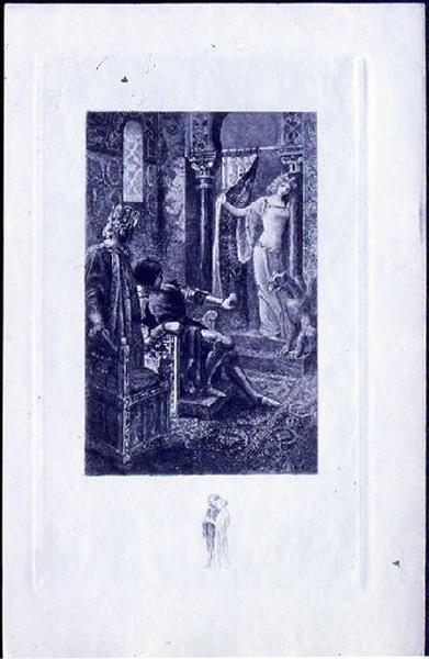 Saint Julien l'Hospitalier, chapitre 02 - Et une jeune fille parut (tirage bleu)_0