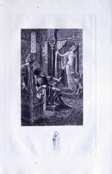 Saint Julien l'Hospitalier, chapitre 02 - Et une jeune fille parut (tirage noir)_0
