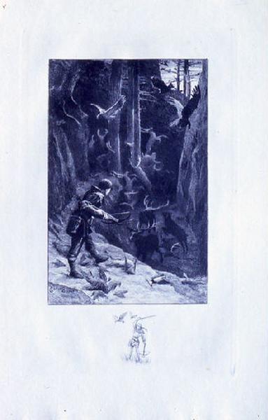 Saint Julien l'Hospitalier, chapitre 01 - Mais Julien ne se fatiguait pas de tuer (tirage bleu)_0