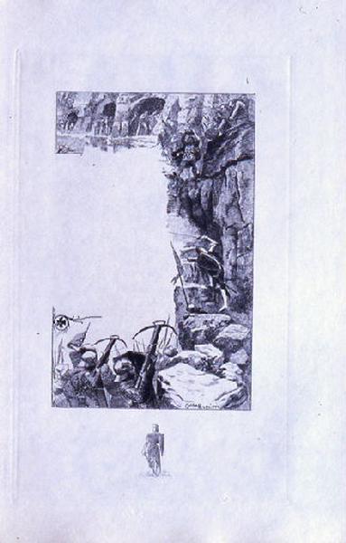 Saint Julien l'Hospitalier, chapitre 02 - Il vainquit les Troglodytes (tirage noir)_0