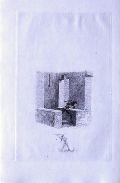 Saint Julien l'Hospitalier, chapitre 01 - Julien s'enfuit du château (tirage noir)_0