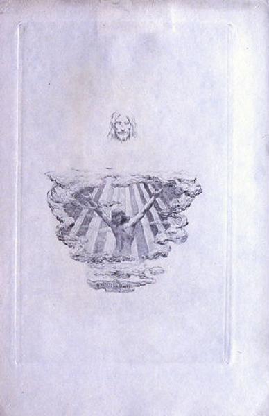 Saint Julien l'Hospitalier, chapitre 03 - Et Julien monta vers les espaces bleus (Tirage noir)
