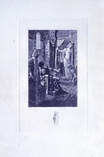 Saint Julien l'Hospitalier, chapitre 02 - Et une jeune fille parut (tirage bleu)