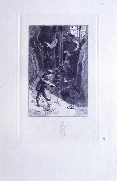 Saint Julien l'Hospitalier, chapitre 01 - Mais Julien ne se fatiguait pas de tuer (tirage noir)_0