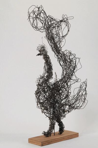 Grand coq (sur socle)_0