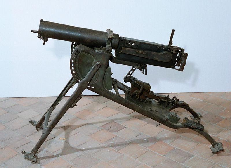 VICKERS-MAXIM : mitrailleuse (2)