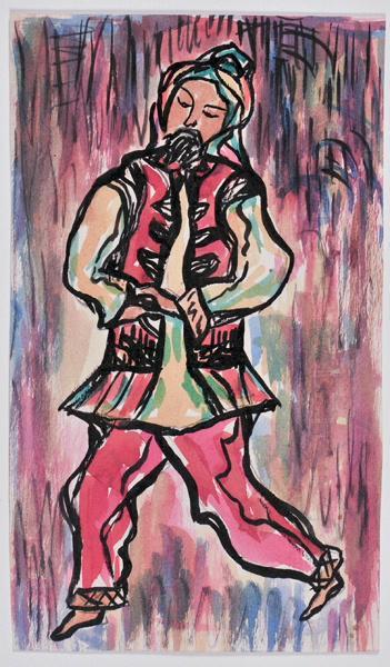 Danse folklorique traditionnelle_0