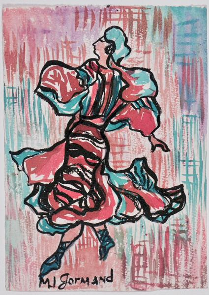 Danseuse (recto) ; Danseuse (verso)_0