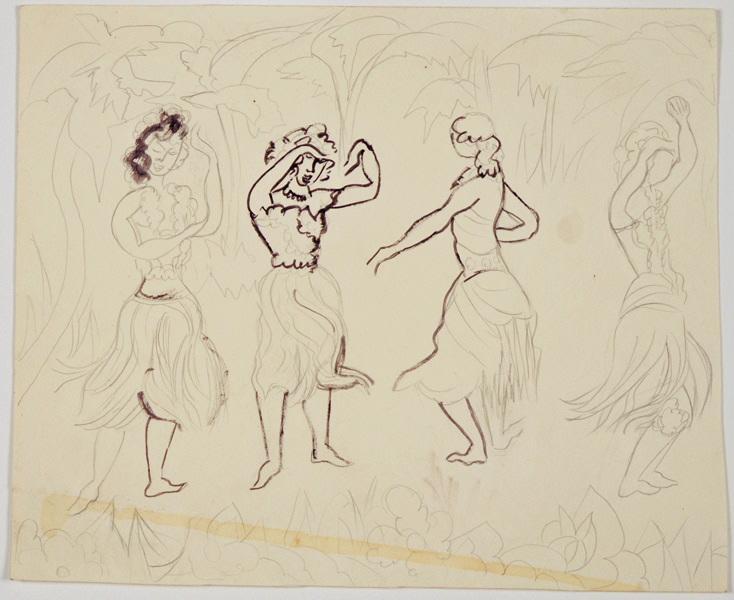 Danseuses polynésiennes_0