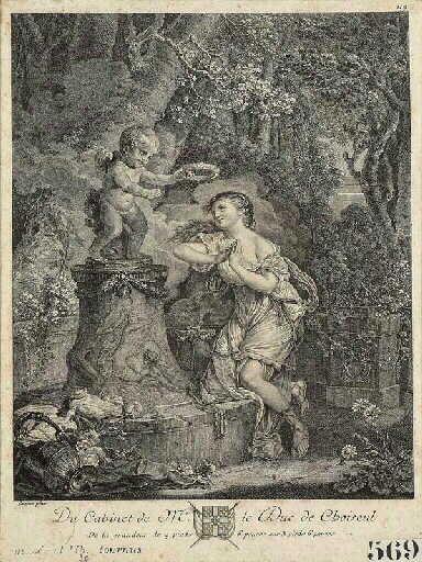 Jeune fille faisant sa prière au pied de l'autel de l' Amour ; L'Offrande à l'amour  (autre titre)_0