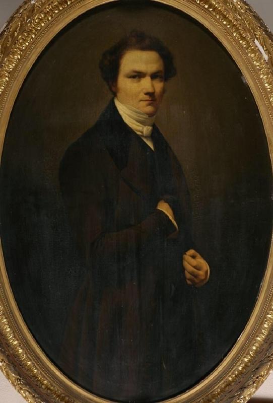 CANZI Auguste Alexis : Portrait d'Alexandre Marie