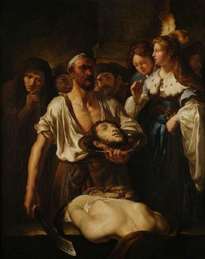FABRITIUS Carel (d'après) : La décollation de saint Jean-Baptiste