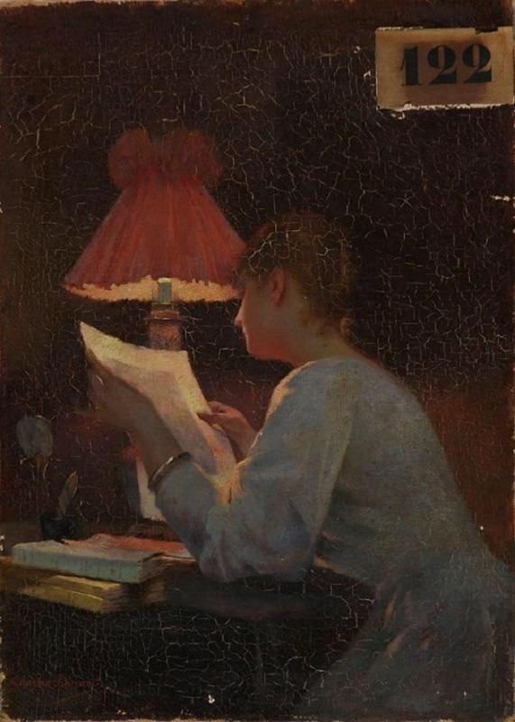 CAROLUS-DURAN (dit), DURAND Charles Emile Auguste (patronyme) : Soirée d'hiver : la lecture
