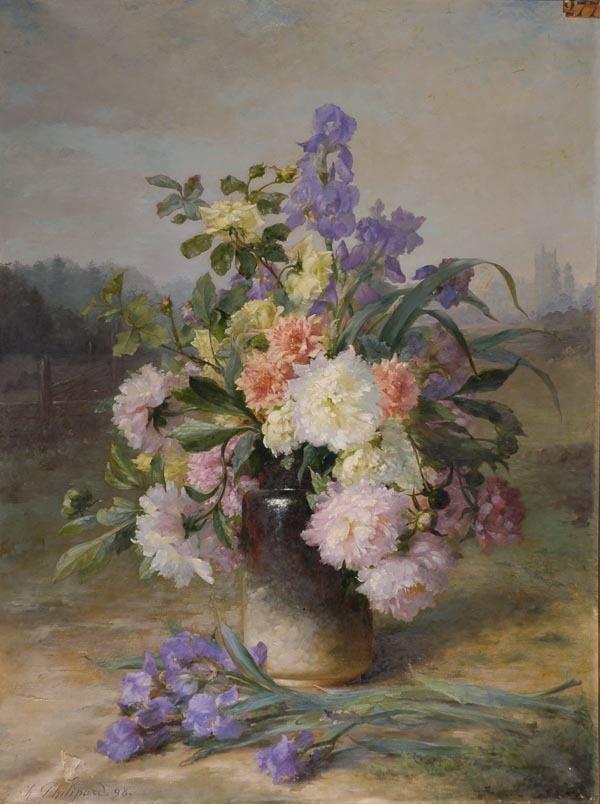 PHILIPPART Charles : Bouquet de fleurs