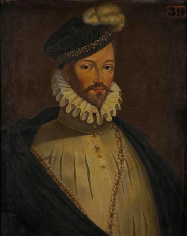 anonyme : Portrait de Charles IX