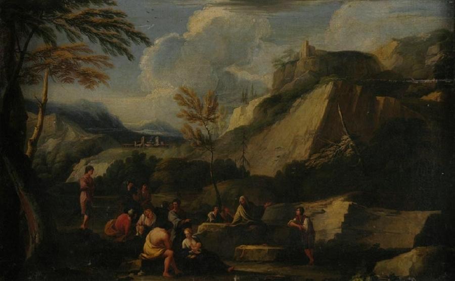 anonyme : Platon au cap Sounion