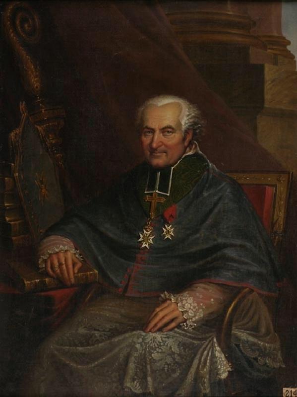 PINGRET Edouard Henri Théophile : Monseigneur Marie de Bombelles, évêque d'Amiens