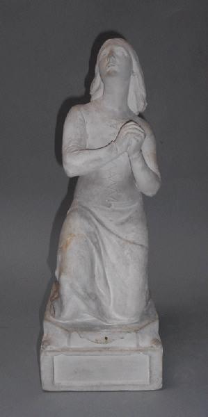 Jeanne d'Arc apprenant sa condamnation au feu_0