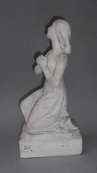 KLEY Louis (auteur) : Jeanne d'Arc apprenant sa condamnation au feu