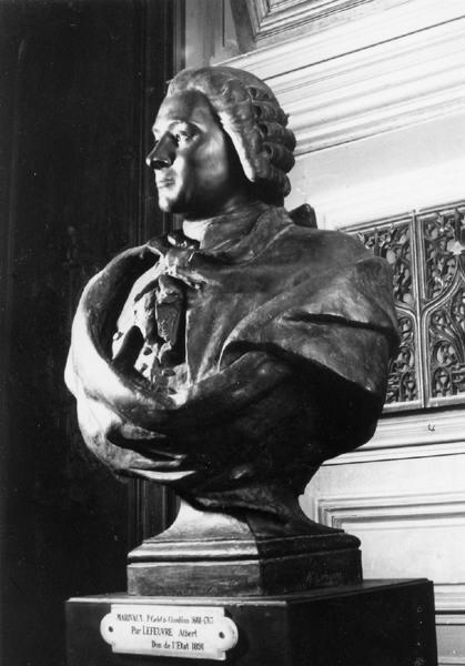 ALBERT-LEFEUVRE Louis Etienne Marie (sculpteur), SIOT-DECAUVILLE (fondeur) : Marivaux