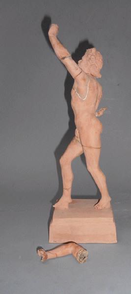 anonyme (sculpteur) : Faune dansant, Faune de Balto