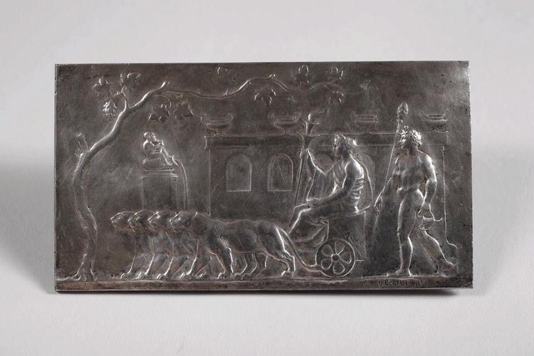 LEVILLAIN Ferdinand (sculpteur) : Bacchus et Cérès à la recherche de Proserpine