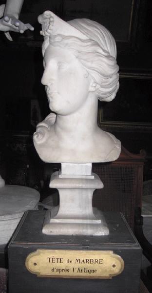 Buste de femme d'après l'antique_0