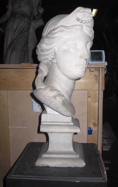 anonyme : Buste de femme d'après l'antique