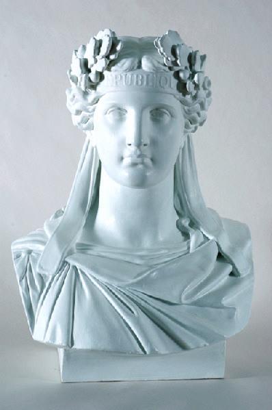 GUILLOUX (auteur) : Marianne, Buste de République