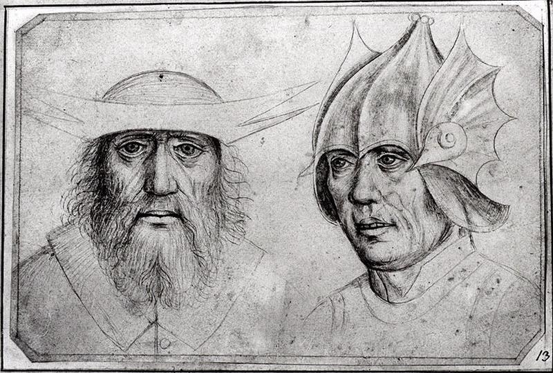 Deux têtes d'hommes_0
