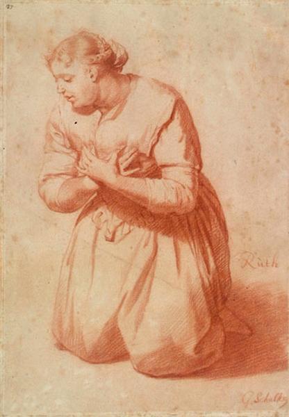 Ruth à genoux ; Femme à genoux (autre titre)_0