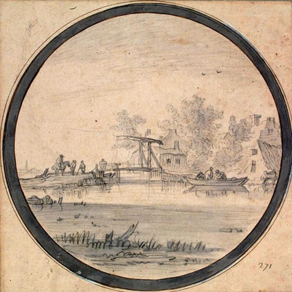 Marine, rivière au pont de bois_0