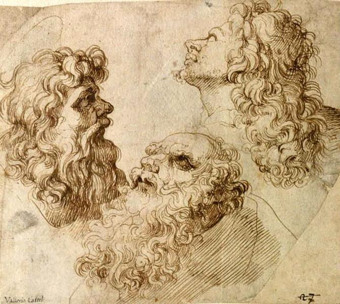 Trois têtes d'hommes_0