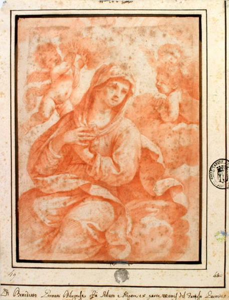 Vierge entourée d'anges_0