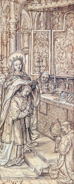 Imposition de la chasuble à Saint Ildefonse_0