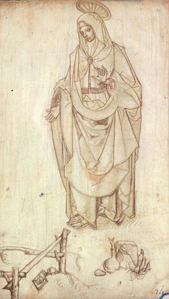La Vierge au tombeau_0