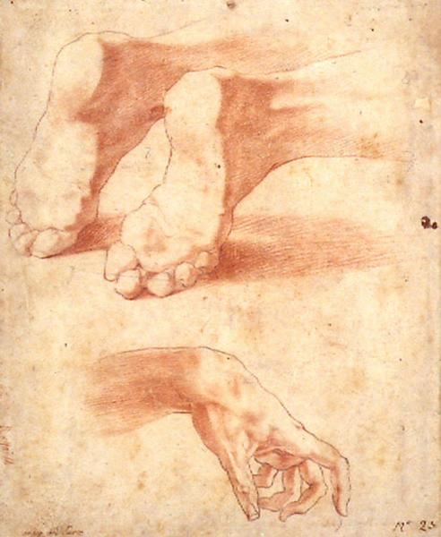 Feuille d'étude : deux pieds, une main_0