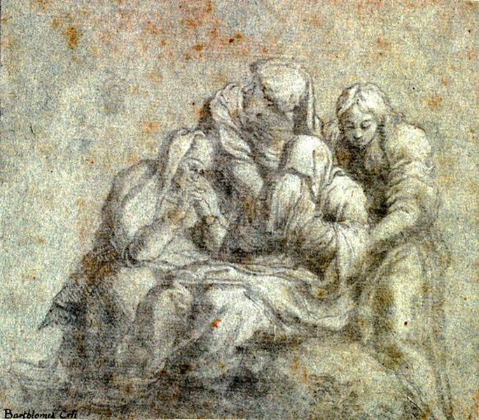 La Vierge et les saintes femmes_0