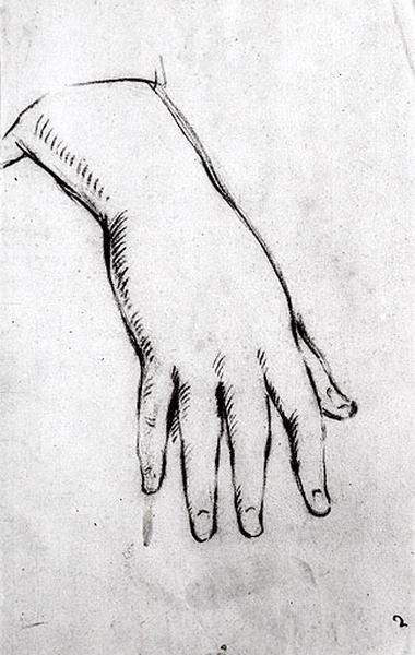 Etude d'une main_0
