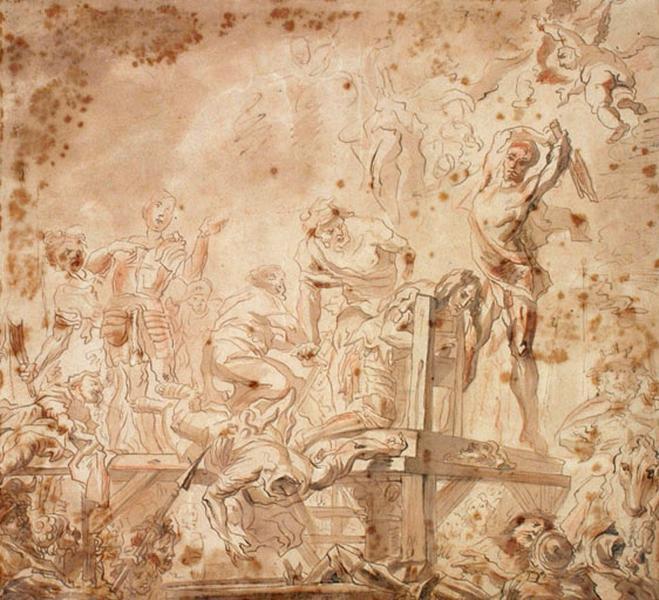 Les Martyrs d'Agaune ; Supplice de guerriers (titre ancien) ; Martyre de deux Saints (titre ancien)_0