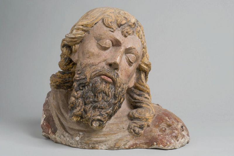 Tête de saint Jean-Baptiste (Il s'agit d'une identification hypothétique)_0